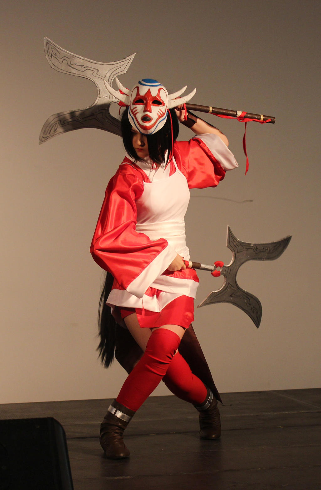 Blood Moon Akali Cosplay 2 by PruskaJackson on DeviantArt Bloodmoon Akali Costume