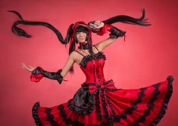 Kurumi cosplay by PruskaJackson