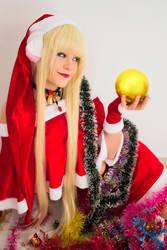Christmas Chii Cosplay by PruskaJackson