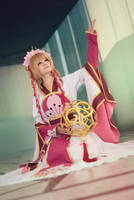 Sakura Hime from Tsubasa Chronicles cosplay by PruskaJackson