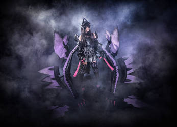 Gore Magala Monster Hunter 3 cosplay figure by PruskaJackson