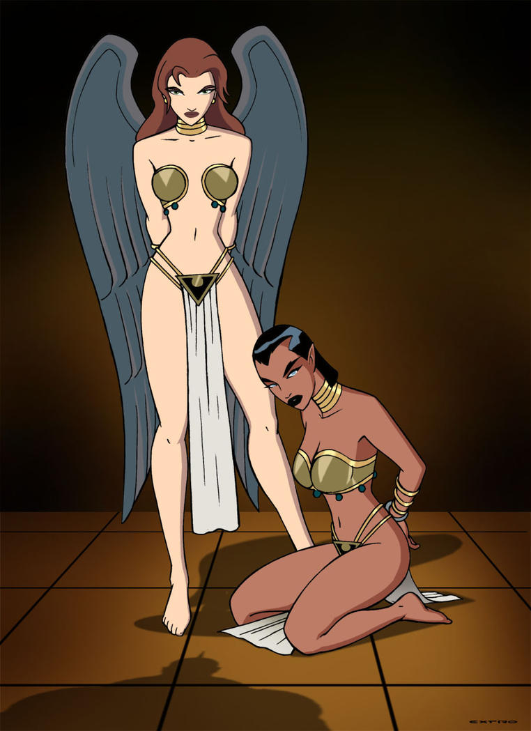Sexy naked hawkgirl ass like student
