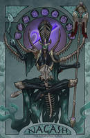 Nagash, The Undying King by artofrussell