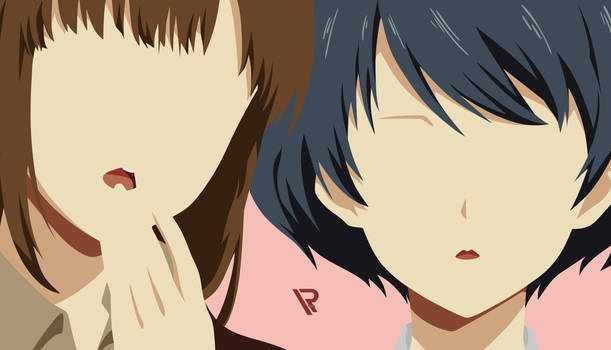 Hina And Rui ( Domestic Girlfriend ) Wallpaper