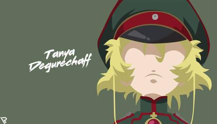 Tanya von Degurechaff (Youjo Senki Wallpaper)