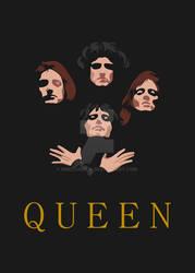Minimalistic Queen Poster