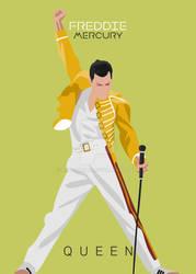 Fredie mercury Poster