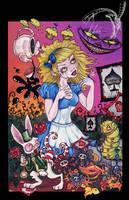 Alice in wonderland by lenore666
