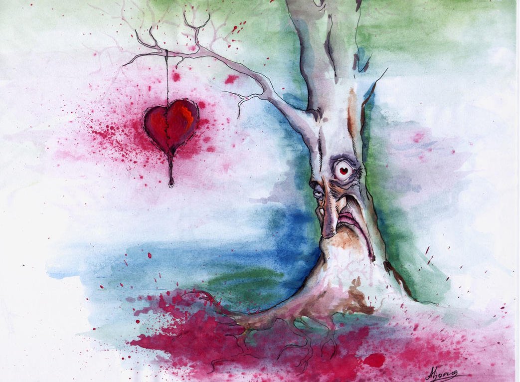 tree of my love pain by lenore666 on DeviantArt