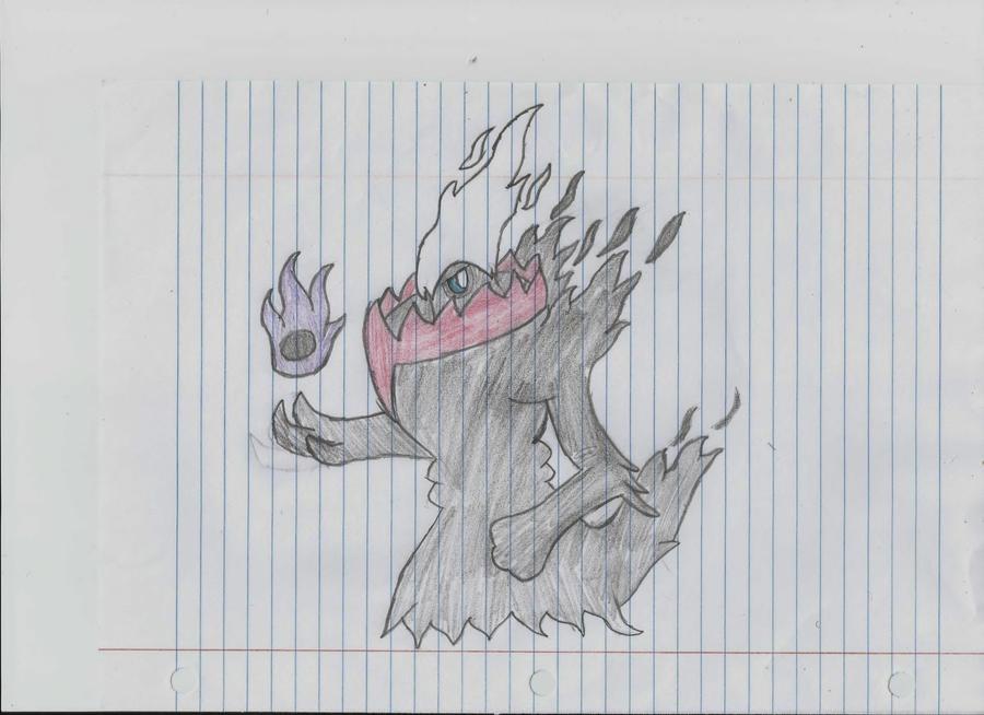 Darkrai, Lord of Nightmare by ZozabelleBaron
