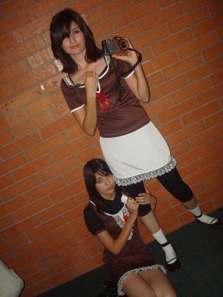Mio and Mayu- Fatal Frame 2 by Rowensweet1590 on DeviantArt