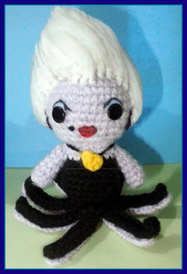 Ariel (The Mermaid)- Amigurumi Doll Crochet Pattern PDF | Mermaid ... | 876x600