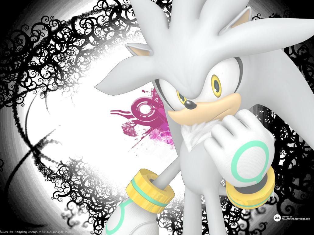 Silver The Hedgehog Wallpaper By CreamFireballWPS