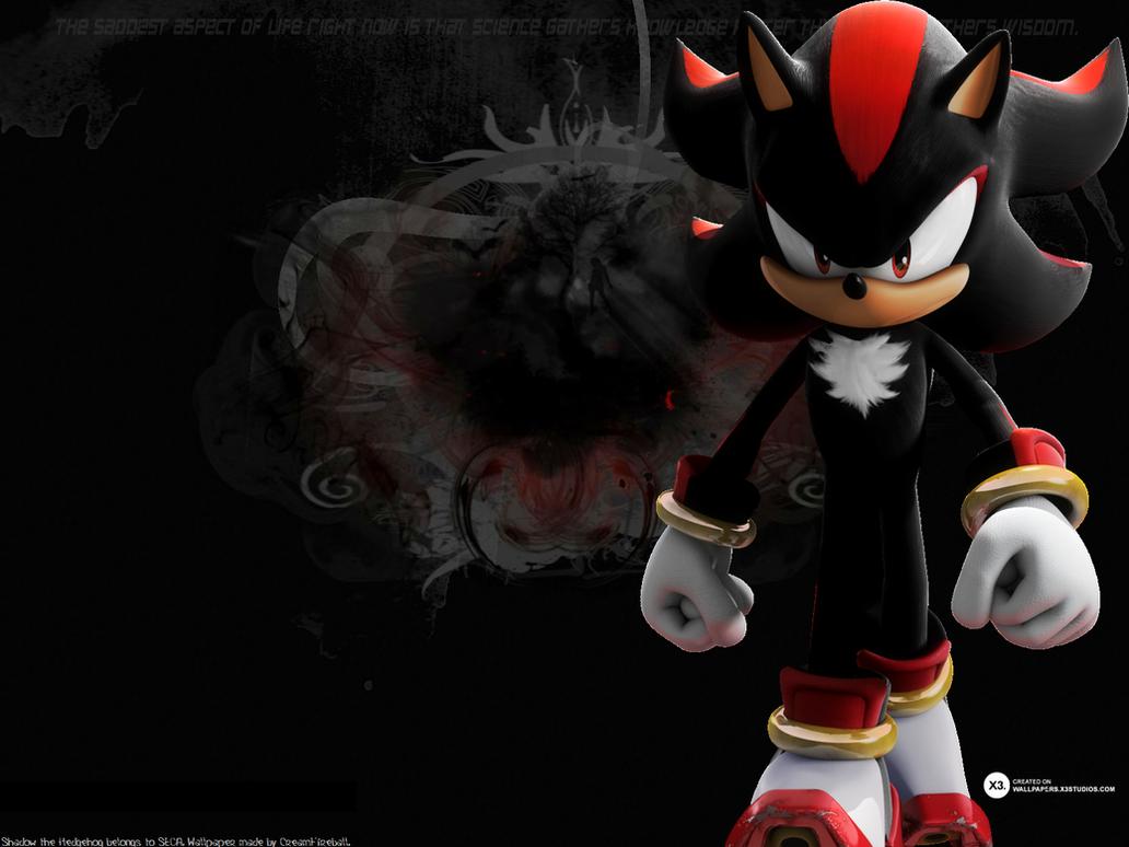 Shadow The Hedgehog Wallpaper 2 By CreamFireballWPS