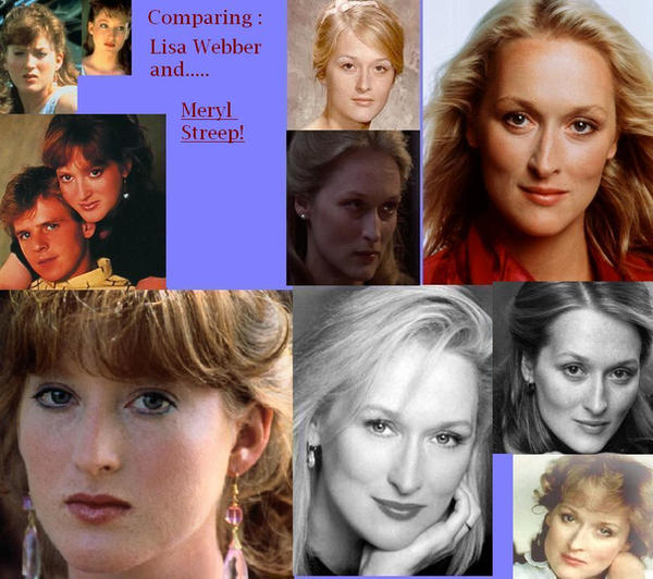 Meryl Streep and Lisa Webber by DreamQueen13