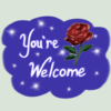 Yourewelcome100emote by Faircloth-DigiTalArt