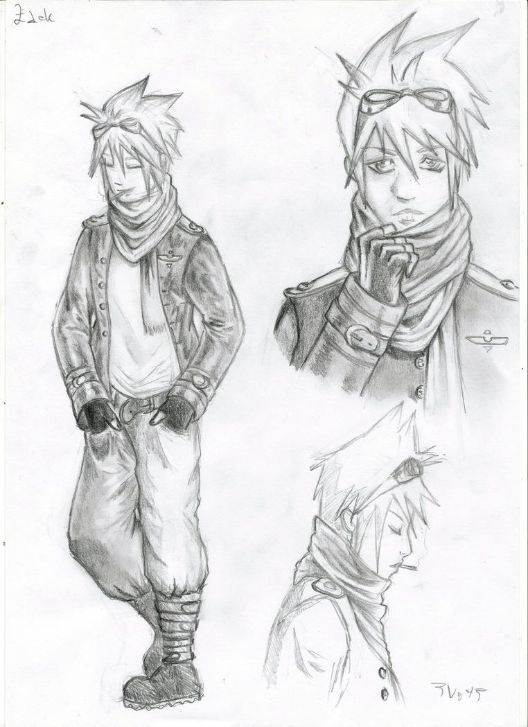 pencil sketch by A-Border