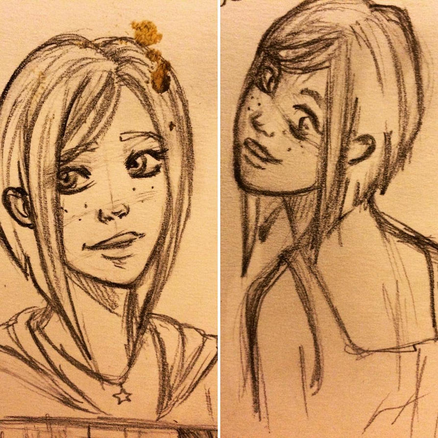Rea Sketch-Character Study by A-Border