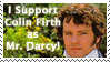 Mr. Darcy is Colin Firth by powowcow