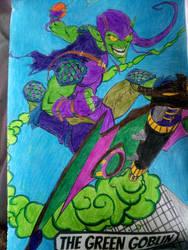 Green Goblin Colouring