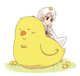 APH - Chicks digs me by ryo-hakkai