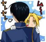 Hug me, roynIIchan