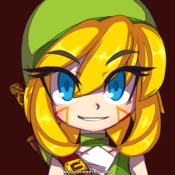 -600x600 Female Link- by Art47