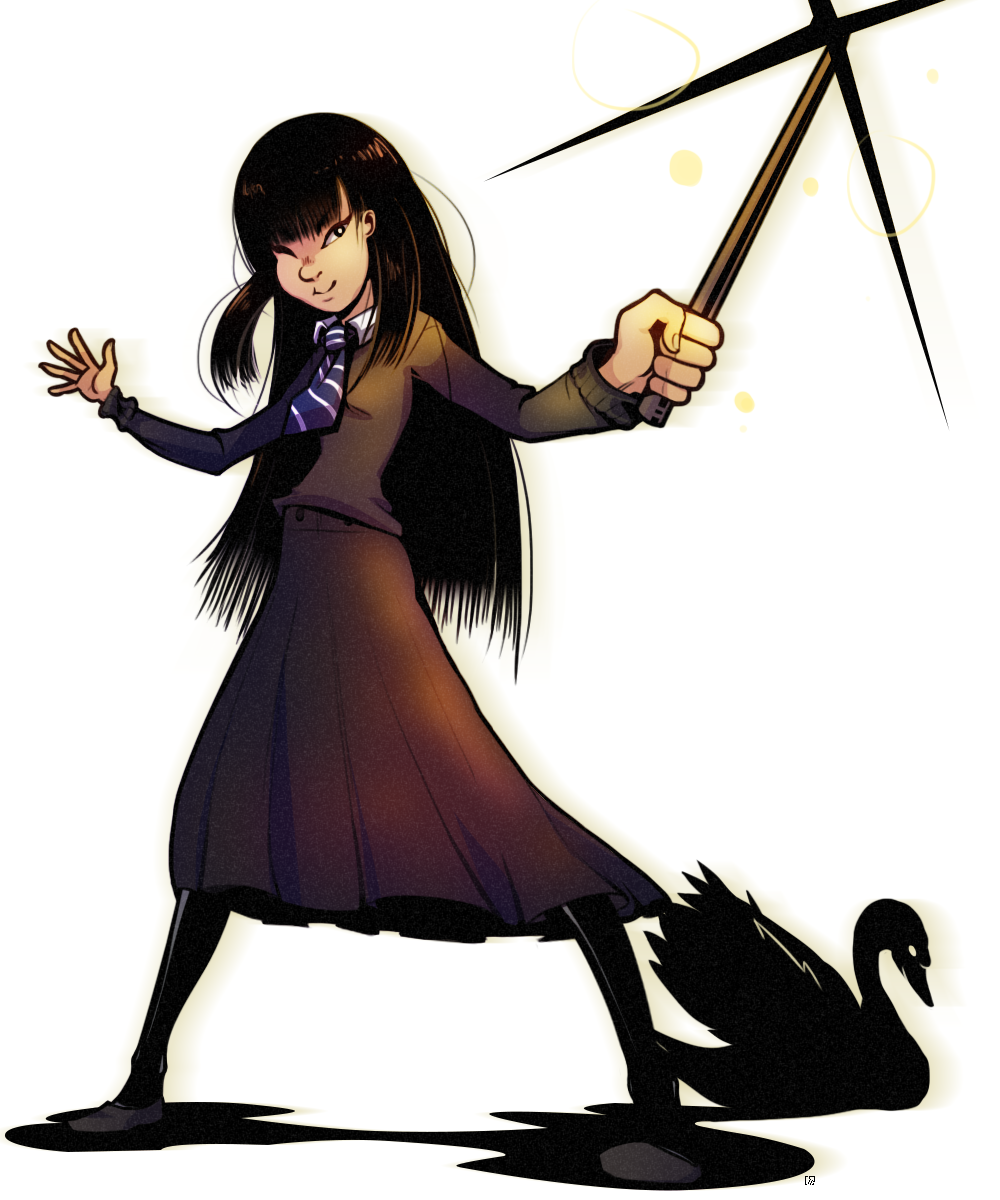 Cho Chang   Character Design Challenge by Level2Select