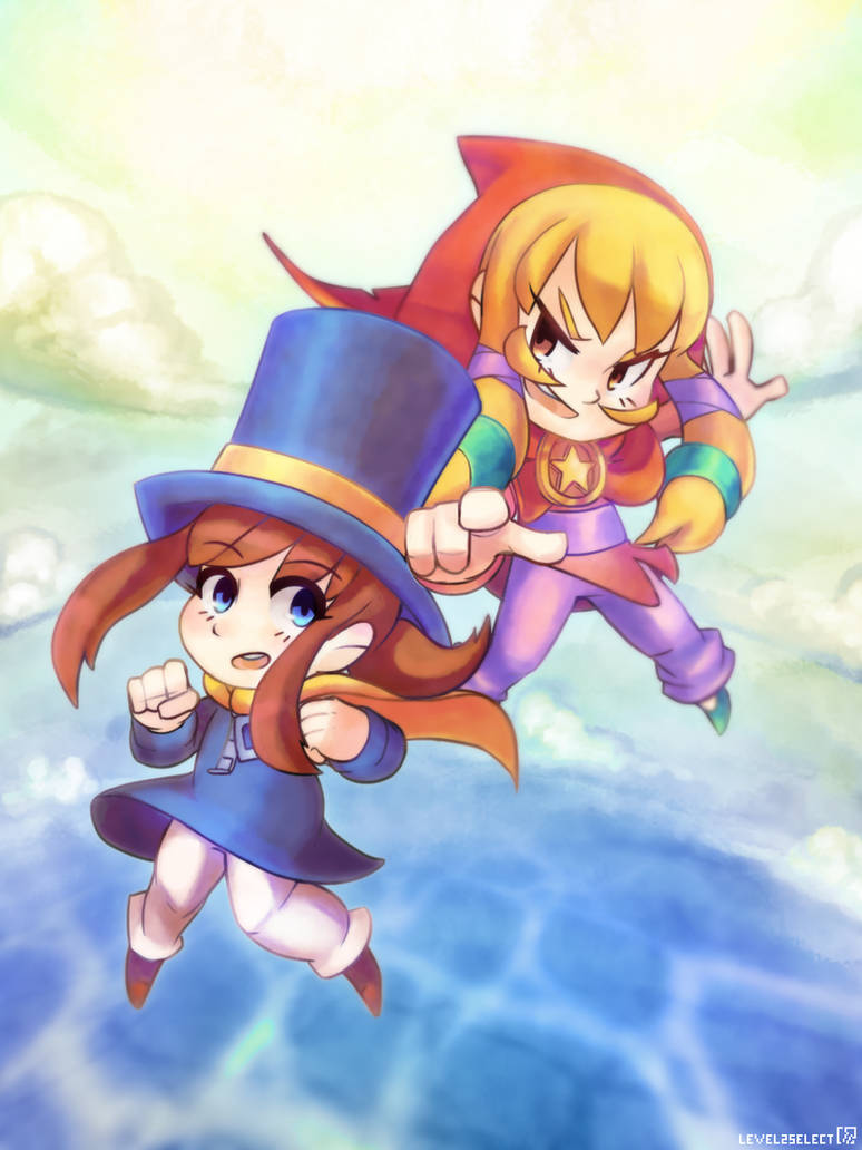 A Hat in Time   Illustration