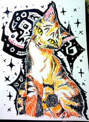 Practice Kitty Markers by akirakinimoto