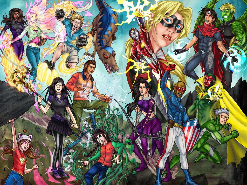 Best Wallpaper Marvel Runaways - runaways___young_avengers_by_cirgy-d5djru3  Photograph_743418.jpg