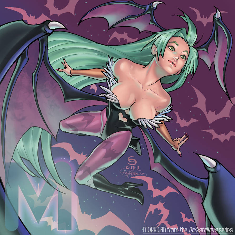 M is for Morrigan