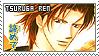 Skip Beat Tsuruga Ren stamp 02 by justswell