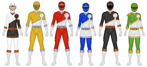 REQUEST: Koete Sentai Yuureiger by CaptainKessler