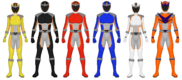 REQUEST: Power Rangers Astral Guard by CaptainKessler