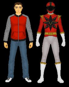 Power Rangers Twin Spark - Red Ranger by CaptainKessler