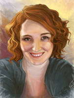 Self Portrait 01 by Crydwyn