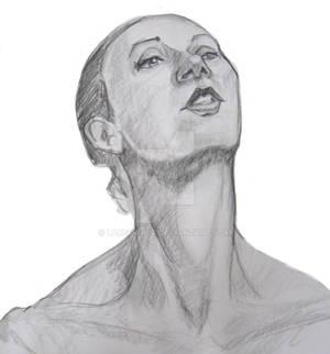 Head Life Drawing, 25 Min