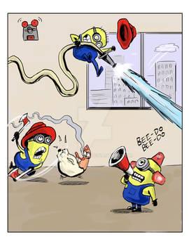 Minion Fire Rescue