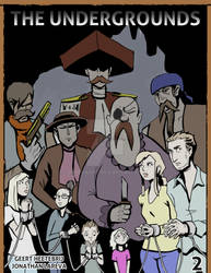 The Undergrounds Issue 2 cover