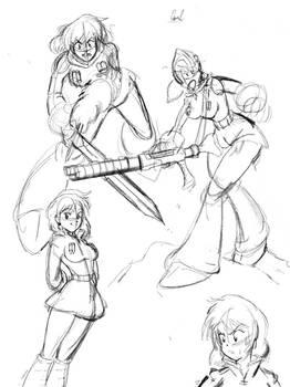 Nausicaa sketches