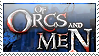 Of Orcs and Men [stamp] by B-Bogdan
