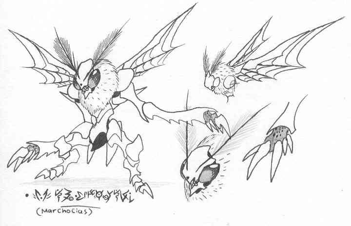 Grim-Tales kaijin concepts02 by Kainsword-Kaijin