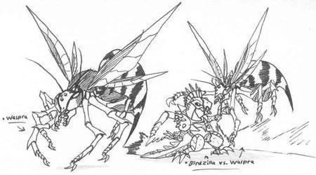 Waspra by Kainsword-Kaijin