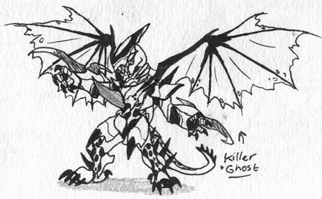 KillerGhost by Kainsword-Kaijin