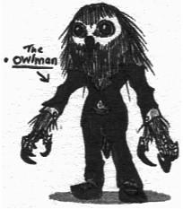The Owlman by Kainsword-Kaijin