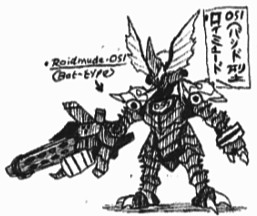 Roidmude-051 (Bat-Type) by Kainsword-Kaijin