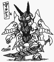 Tyrant by Kainsword-Kaijin