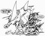 Lord-Drakkon and Rhinosaur