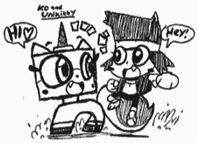 Unikitty and KO^w^ by Kainsword-Kaijin